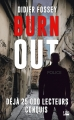 Couverture Burn out Editions Bragelonne (Thriller) 2018