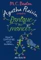 Couverture Agatha Raisin enquête, tome 10 : Panique au manoir Editions Albin Michel 2018
