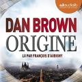 Couverture Origine Editions Audiolib 2017