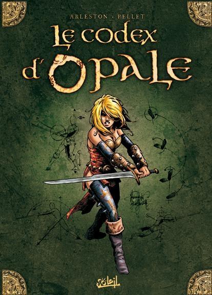 Couverture Les forêts d'Opale, tome 0 : le codex d'Opale