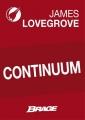 Couverture Continuum Editions Bragelonne (Brage) 2013