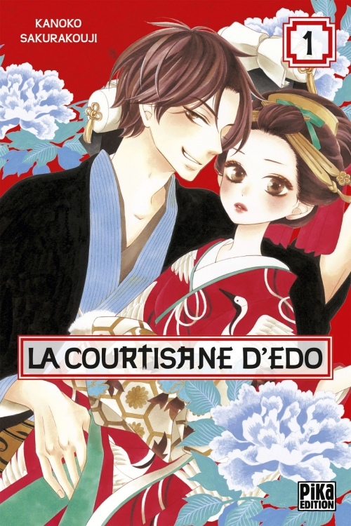 Couverture La courtisane d'Edo, tome 1