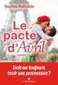 Couverture Le pacte d'Avril Editions Albin Michel 2018