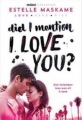 Couverture D.I.M.I.L.Y., tome 1 : Did I mention I love you ? Editions Sourcebooks (Fire) 2015
