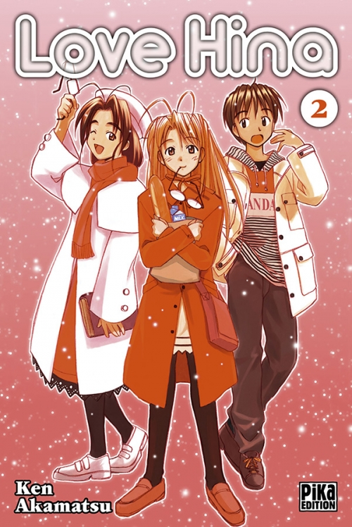 Couverture Love Hina, tome 02
