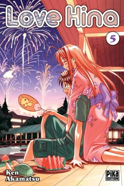 Couverture Love Hina, tome 05