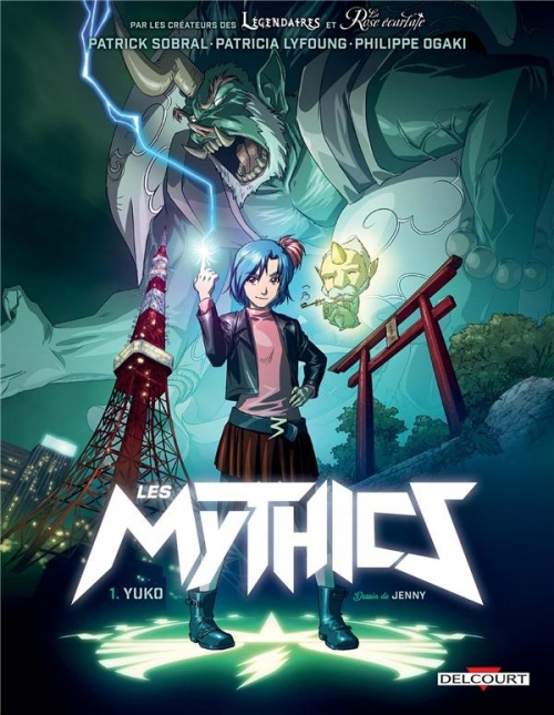 Couverture Les Mythics, tome 1 : Yuko