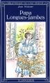 Couverture Papa-Longues-Jambes / Papa Faucheux Editions Flammarion (Bibliothèque du chat perché) 1981