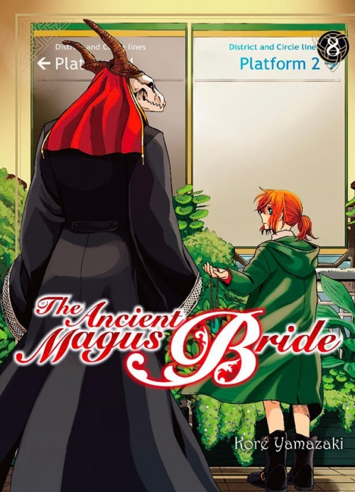 Couverture The ancient magus bride, tome 8