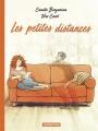 Couverture Les petites distances Editions Casterman 2018