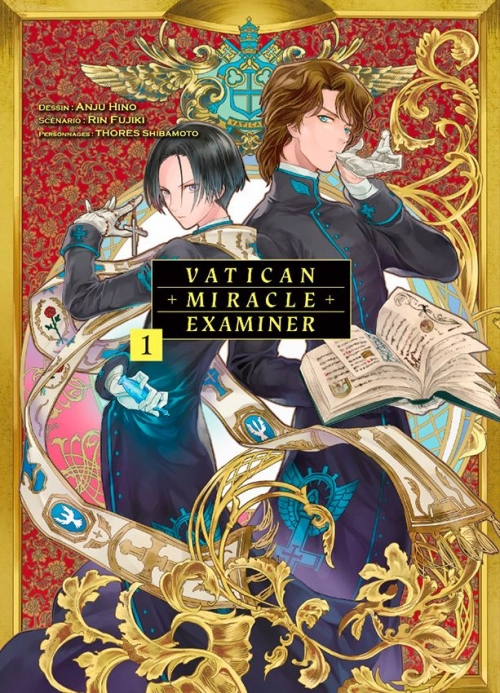 Couverture Vatican miracle examiner, tome 1