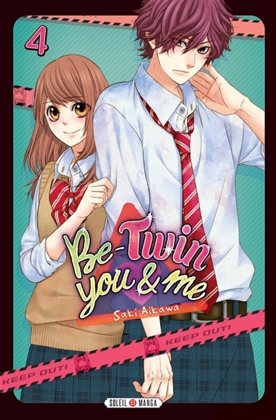 Couverture Be-twin you & me, tome 4