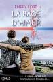 Couverture La rage d'aimer Editions Dreamland 2018