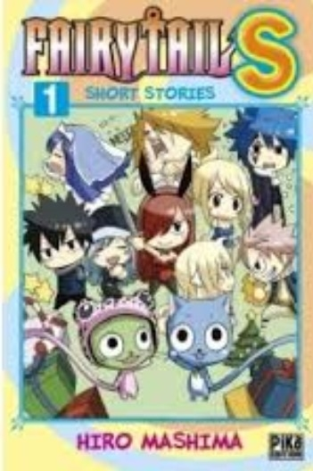 Couverture Fairy tail S : Short stories, tome 1