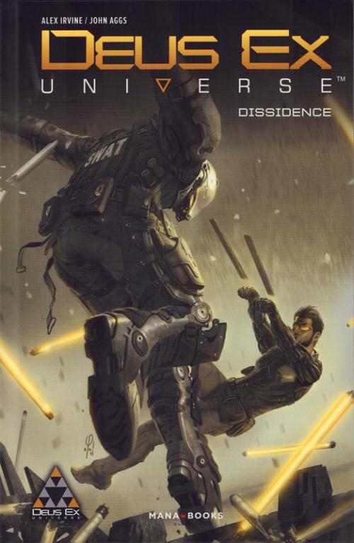 Couverture Deus Ex Universe : Dissidence