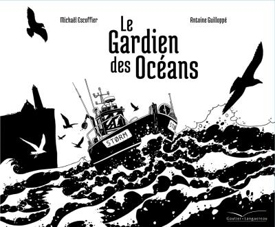 Couverture Le gardien des océans