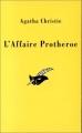 Couverture L'Affaire Protheroe Editions Le Masque 1991