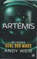 Couverture Artemis Editions Bragelonne (Thriller) 2017