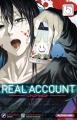 Couverture Real account, tome 05 Editions Kurokawa 2017