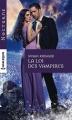 Couverture La loi des vampires Editions Harlequin (Nocturne) 2016