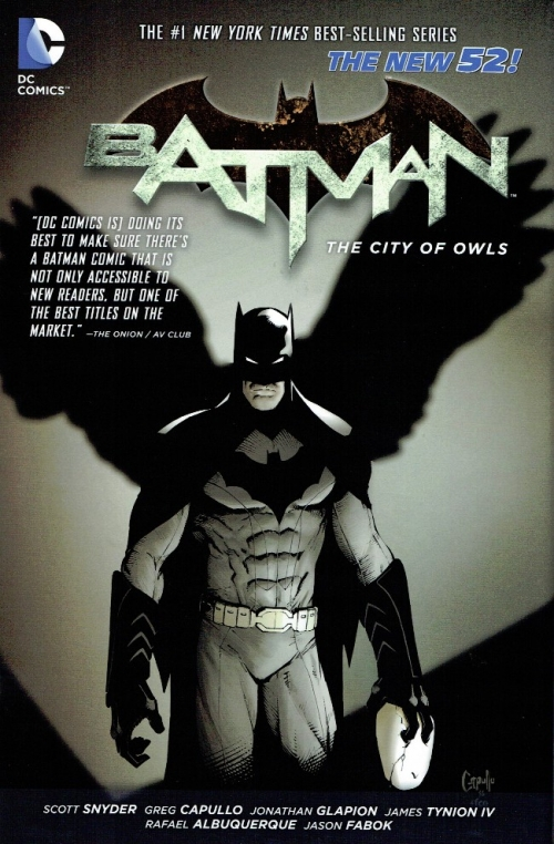 Couverture Batman (New 52), book 2: The City of Owls