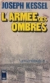 Couverture L'armée des ombres Editions Presses pocket 1972