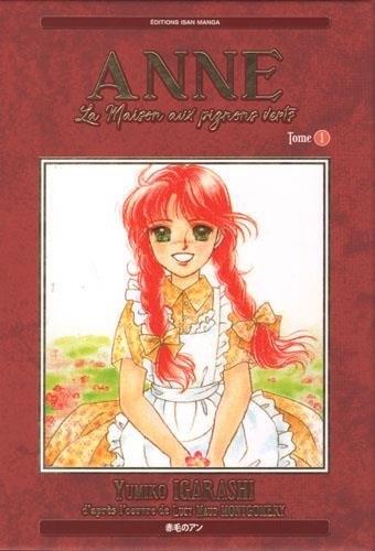 Anne la maison aux pignons verts manga tome 1 for Anne la maison aux pignons verts livre en ligne