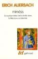 Couverture Mimésis Editions Gallimard  (Tel) 1977