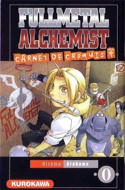Couverture Fullmetal Alchemist : Carnet de croquis