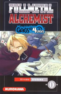 Couverture Fullmetal Alchemist : Gags en 4 cases