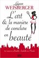 Couverture L'art et la manière de conclure en beauté Editions 12-21 2016
