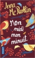 Couverture Mon midi mon minuit Editions Pocket 2018