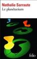 Couverture Le planétarium Editions Folio  2017