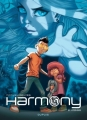 Couverture Harmony, tome 2 : Indigo Editions Dupuis 2017
