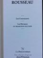 Couverture Les Confessions - Les Rêveries du promeneur solitaire Editions Garnier (La Bibliothèque) 2009