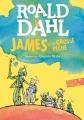 Couverture James et la grosse pêche Editions Folio  (Junior) 2017