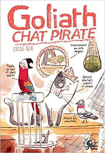 Couverture Goliath : Chat pirate