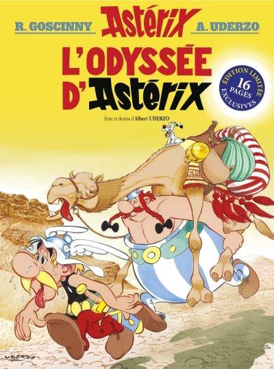 Couverture Astérix, tome 26 : L'odyssée d'Astérix