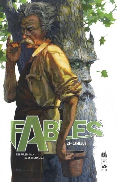 Couverture Fables (cartonné), tome 21 : Camelot