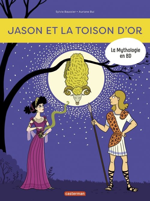 Couverture Jason et la toison d'or