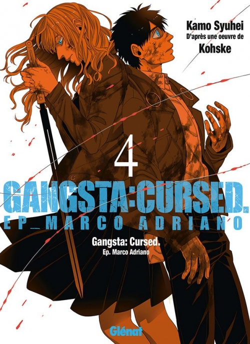 Couverture Gangsta : Cursed, Ep. Marco Adriano, tome 4