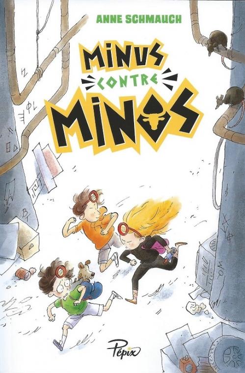 Couverture Minus contre Minos