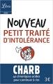 Couverture Nouveau petit traité d'intolérance Editions Librio (Idées) 2016