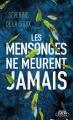 Couverture Les mensonges ne meurent jamais Editions Michel Lafon (Poche) 2014