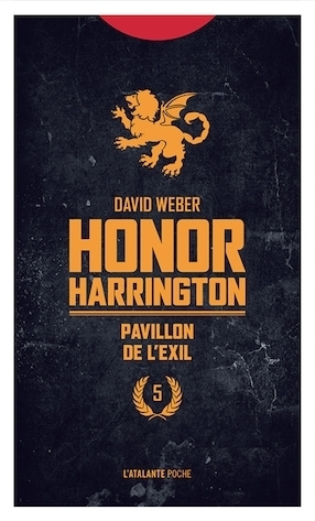 Couverture Honor Harrington (13 tomes), tome 05 : Pavillon de l'exil