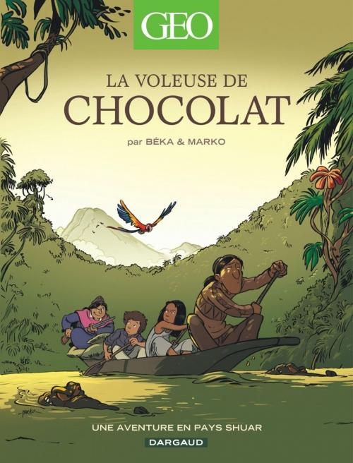 Couverture La voleuse de chocolat