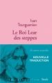 Couverture Le roi Lear des steppes Editions Stock (La Cosmopolite) 2018