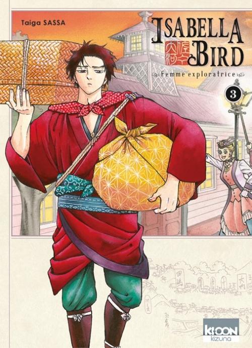 Couverture Isabella Bird : Femme exploratrice, tome 3
