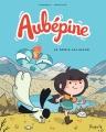Couverture Aubépine, tome 1 : Le génie saligaud Editions Dupuis 2018