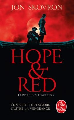 Couverture L'empire des tempêtes, tome 1 : Hope & Red